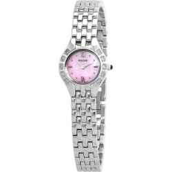 Diamond Pink Dial Ladies Watch - Pink - Pulsar Watches found on Bargain Bro from lyst.com for USD $50.16