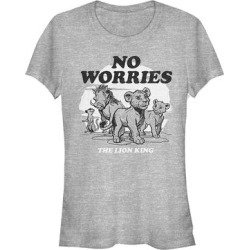 Fifth Sun Women's Tee Shirts ATH - The Lion King Athletic Heather 'No Worries' Crewneck Tee - Women found on Bargain Bro Philippines from zulily.com for $16.99