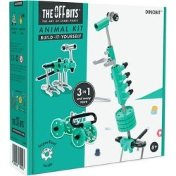 The OFFBits Toy Building Sets - Green DinoBit Toy Kit found on Bargain Bro from zulily.com for USD $11.39