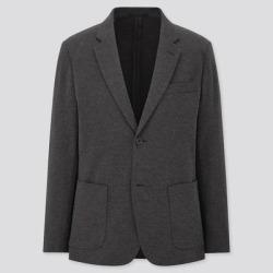 UNIQLO Men's Comfort Jacket, Gray, M found on Bargain Bro India from Uniqlo for $59.90