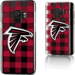 Atlanta Falcons Galaxy Clear Case with Plaid Design found on Bargain Bro Philippines from nflshop.com for $32.99