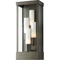 Hubbardton Forge Portico 23 Inch Tall 4 Light Outdoor Wall Light - 304330-1024 found on Bargain Bro from Capitol Lighting for USD $1,479.72