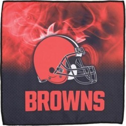 Cleveland Browns 16'' x On Fire Bowling Towel found on Bargain Bro India from Fanatics for $24.95