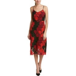 Bebe Midi Dress (RED MULTI - 2), Women's(lace) found on Bargain Bro Philippines from Overstock for $87.99
