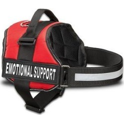 Industrial Puppy Emotional Support Dog Harness, Red, Medium: 24 to 29-in chest found on Bargain Bro Philippines from Chewy.com for $22.95
