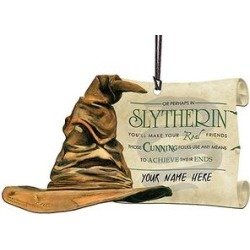 Trend Setters Ltd Ornaments - Harry Potter Sorting Hat Slytherin Personalized Hanging Decoration
