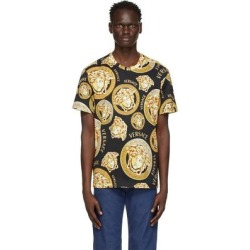 Black Medusa Amplified T-shirt - Black - Versace T-Shirts found on Bargain Bro from lyst.com for USD $452.20