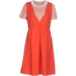 Short Dress - Orange - Boutique Moschino Dresses found on Bargain Bro Philippines from lyst.com for $291.00