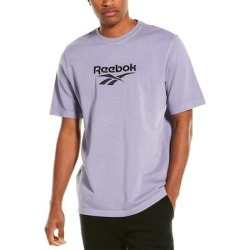 Reebok Premium Vector T-Shirt (S), Men's, Purple found on Bargain Bro Philippines from Overstock for $26.39