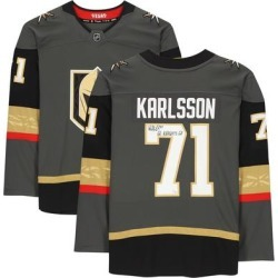 William Karlsson Vegas Golden Knights Fanatics Authentic Autographed Black Breakaway Jersey with