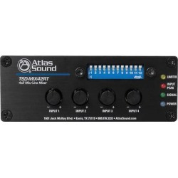 ATLAS TSD 4x2 Mic Line Mixer found on Bargain Bro India from Crutchfield for $338.99