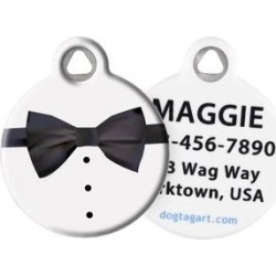 Dog Tag Art Tuxedo Personalized Dog & Cat ID Tag, Small found on Bargain Bro Philippines from Chewy.com for $19.00