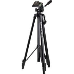 Sunpak Tripods Tripod w/ 3-Way Pan Head for Digital Camera Holder Accessory in Black, Size 3.9 H x 4.4 W x 20.9 D in | Wayfair SPK620540DLX found on Bargain Bro Philippines from Wayfair for $19.95