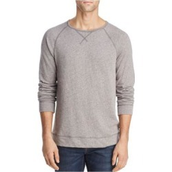 John Varvatos Mens Gray Long Sleeve Crew Neck Shirt L found on MODAPINS from Overstock for USD $48.98