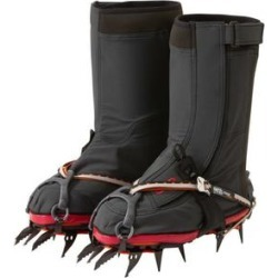 Outdoor Research Footwear X-Gaiters Black/Chili Medium Model: 2692870144007 found on Bargain Bro from campsaver.com for USD $190.00