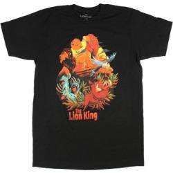 Disney Men's The Lion King Good Vs Evil Movie Scene T-Shirt found on MODAPINS from Overstock for USD $17.00