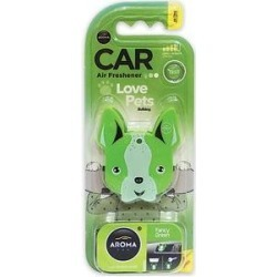 Aroma Car Love Pets Dog Fancy Green Car Air Freshener found on Bargain Bro from Chewy.com for USD $3.03