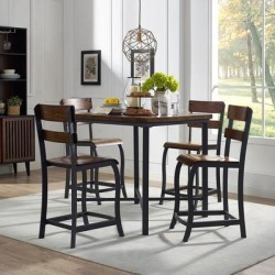 Maddox Counter-Height Dining Set, 5pc found on Bargain Bro from samsclub.com for USD $493.24