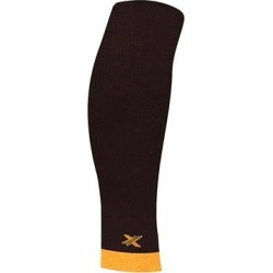 XTF by Extreme Fit Compression Sleeves - Black & Orange Elite Lightweight Calf Compression Sleeves found on Bargain Bro Philippines from zulily.com for $11.99