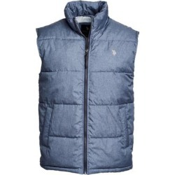 U.S. Polo Assn. Men's Outerwear Vests CNHT - Htr Signature Vest - Men found on Bargain Bro Philippines from zulily.com for $16.99