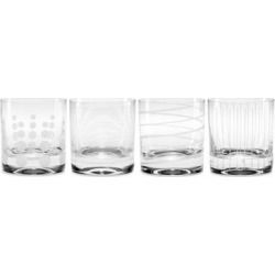 Mikasa 'Cheers' 12.75 oz. Double Old Fashioned Glass (Set of 4) found on Bargain Bro India from Overstock for $40.99