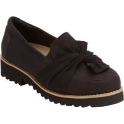 Women's The Victoria Flat by Comfortview in Black (Size 9 M) found on Bargain Bro Philippines from Woman Within for $26.98