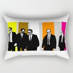 Rectangular Pillow | Reservoir Dogs, Tarantino by Ferminem - Small (17