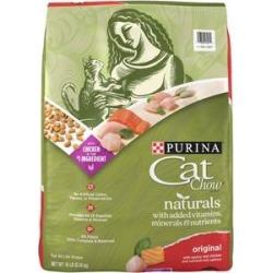 Cat Chow Naturals Original Dry Cat Food, 18-lb bag