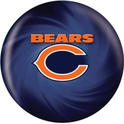 Chicago Bears Bowling Ball found on Bargain Bro from nflshop.com for USD $136.79
