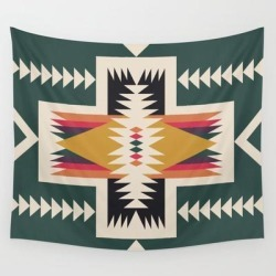 Wall Hanging Tapestry | Cabin In The Woods by Urban Wild Studio Supply - 51