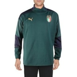 Puma Mens 1/4 Zip Pullover Fitness Activeear - Ponderosa Pine/Peacoat - XXL (Ponderosa Pine/Peacoat - XXL), Men's, Ponderosa Green/Peacoat(polyester) found on Bargain Bro from Overstock for USD $17.81