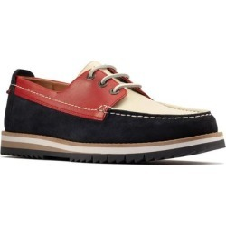 Clarks Durston Moc Toe Derby - Brown - Clarks Lace-Ups found on Bargain Bro India from lyst.com for $130.00