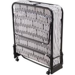 Maison Blanche- Folding Mattress Stripe (Low Profile - Medium - Black - Twin) found on Bargain Bro from Overstock for USD $195.27