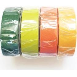 MT masking tape - Set Of 4 Earth Tone Washi Masking Tapes