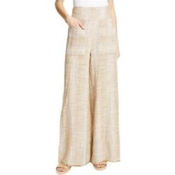 Free People Womens Woven Casual Wide Leg Pants (Ivory - Small), Women's(cotton) found on Bargain Bro Philippines from Overstock for $54.31