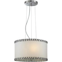 Lite Source Lavina 18 Inch Large Pendant - LS-18858 found on Bargain Bro from Capitol Lighting for USD $106.40