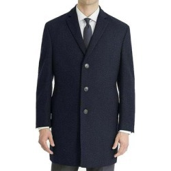 Calvin Klein Mens Overcoat Navy Blue Size 46R Prosper X-Fit Wool (46R), Men's found on Bargain Bro Philippines from Overstock for $180.97