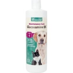 NaturVet Glucosamine DS with Chondroitin Hip & Joint Stage 1 Maintenance Dog & Cat Supplement, 16-oz