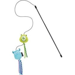 Pixar Mike Wazowski & Sulley Teaser Cat Toy with Catnip found on Bargain Bro from Chewy.com for USD $7.58