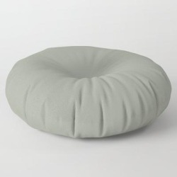 Floor Pillow | Port Of Call ~ Sage Green by Nancy J's Photo Creations - ROUND - 30