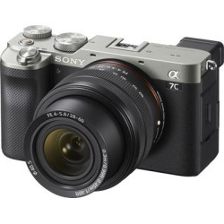 Sony Alpha 7C Full Frame Mirrorless with 28-60mm Lens- Silver found on Bargain Bro from Crutchfield for USD $1,594.48