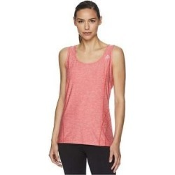 Reebok Womens Space Dye Print Racerback Tank Top (Red - R674 - X-Small), Women's(polyester) found on Bargain Bro India from Overstock for $20.59