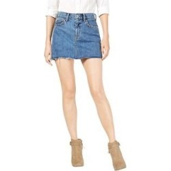 Hudson Womens The Viper Mini Skirt (Blue - 30), Women's(cotton, tie-dye) found on MODAPINS from Overstock for USD $98.63
