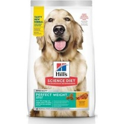 Hill's Science Diet Adult Perfect Weight Chicken Recipe Dry Dog Food, 4-lb bag found on Bargain Bro from Chewy.com for USD $12.15
