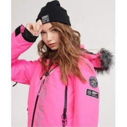 Sd Ski Run Jacket - Pink - Superdry Jackets found on Bargain Bro Philippines from lyst.com for $120.00