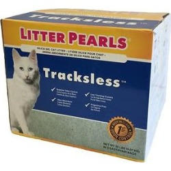 Litter Pearls Tracksless Unscented Non-Clumping Crystal Cat Litter, 20-lb box found on Bargain Bro Philippines from Chewy.com for $49.99