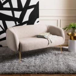 Safavieh Couture Alena Loveseat Sofa - 55.1
