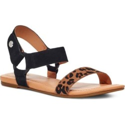 UGG Rynell Sandal - Brown - Ugg Flats found on Bargain Bro Philippines from lyst.com for $85.00