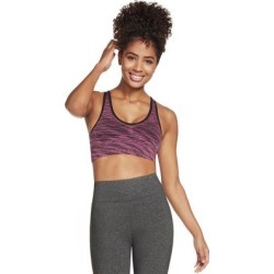 Skechers Seamless Racer Bra Womens Bra Racerback,Washable - Pink (M), Girl's found on Bargain Bro Philippines from Overstock for $24.95