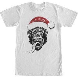 Fifth Sun Men's Tee Shirts WHITE - White Gas Monkey Garage Santa Hat Tee - Men found on Bargain Bro Philippines from zulily.com for $9.94